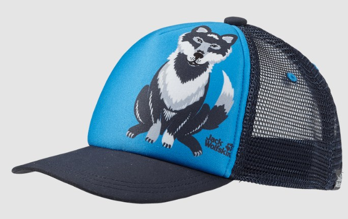 Детская кепка Jack Wolfskin Animal Mesh Cap Kids